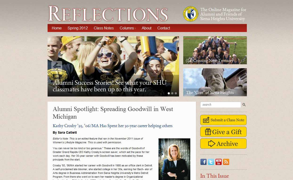 Siena_Heights_University_Reflections