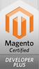 Certified Magento developer plus badge