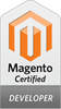 Certified Magento developer badge