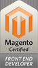 Magento-certified developer frontend badge