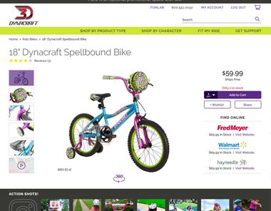 Dynacraft Wheels Magento 2 B2C Build
