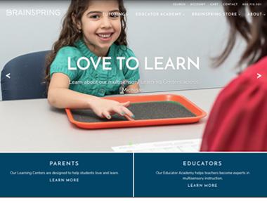 Brainspring BigCommerce Website