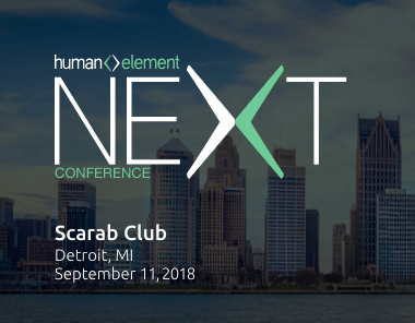 the 2018 human element next conference