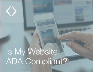 is my website ada compliant? Find out in this human element blog by team lead luke bahrou
