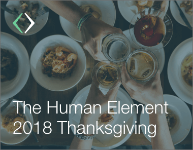 a very thankful human element blog post