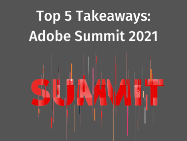 HumanElementA2: Did you attend #AdobeSummit? We did, and we learned a lot! Here are our Top 5 Takeaways: https://t.co/xYAguXHxEI https://t.co/v9IbqWngxx